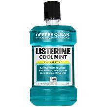 Listerine Antiseptique Adulte Mouthwash, menthe fraîche, 1,5 litre