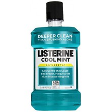 Listerine Antiseptic Adult Mouthwash, Cool Mint, 1.5 liter
