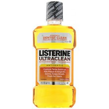 Listerine Ultra Clean Antiseptic Mouthwash, Fresh Citrus, 1 Quart 1.8 Fl Oz