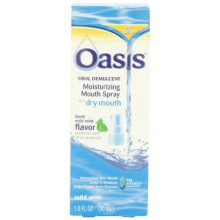 Oasis Mouth Spray Hydratant, Doux Mint, 1 Fl oz (30 ml)