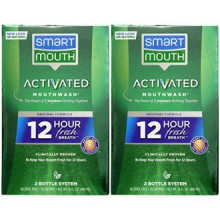Smart Mouth Mouthwash, Fresh Mint - 16 oz - 2 pk