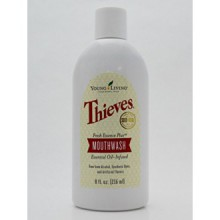 Thieves Fresh Essence Plus Mouthwash v.3 by Young Living Essential Oils - 8oz.