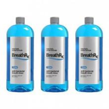 BreathRx Anti-bactérien Mouth Rinse, 3 Bouteille Economy Pack (Chaque bouteille est de 33 onces)