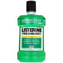Listerine Rince-bouche antiseptique, Freshburst 1,5 litres (Pack de 6)