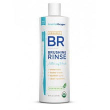 Essential Oxygen Plus Peppermint Brushing Rinse, 16 Ounce -- 2 per case.