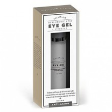 Calily vie Acide Hyaluronique Eye Gel + vitamine E avec Dead Sea Minerals, 1 Oz. - Deep Penetration Formula - Anti-Rides et