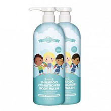 Cercle des Amis 3-in-1 Shampoo, Conditioner & Bodywash (27 onces liquides, 2 pk)