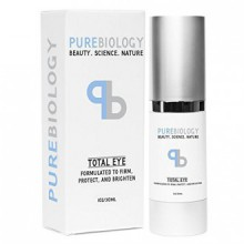 """Pure Biology """"Total Eye"""" Anti Aging Eye Cream Infused with Instant Lift Technology & Baobab Fruit Extract - Immediate &"""