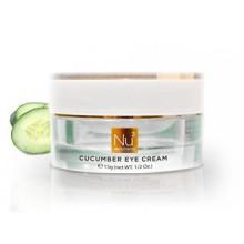 NuNutrients - Cucumber Eye Cream - Soothing Eye Cream for Dark Circles, Wrinkles, and Firmness