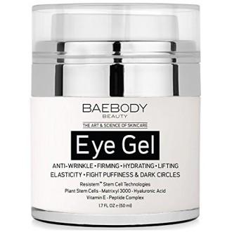 Baebody Eye Gel pour les cernes, les poches, les rides et les sacs - Le plus efficace Anti Aging Eye Gel pour Under et autour