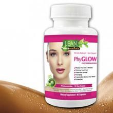 90 capsules! 350 mg phytocéramides Top sans gluten All Plant Natural Dérivée de la peau PhyGLOW Rénover, Anti-Aging