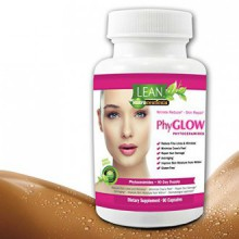 90 Capsules! 350 mg Phytoceramides Top Rated Gluten-Free All Natural Plant Derived PhyGLOW Skin Restoring, Anti-Aging