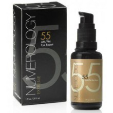 Anti Aging Eye Cream with Vitamin C Hyaluronic Acid Peptides Retinol+Matrixyl 3000 by Numerology Skincare. The Best Eye