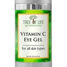 ToLB Vitamin C Anti Aging Eye Moisturizer Cream - Anti Aging Anti Wrinkle Vitamin C Eye Gel