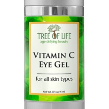 ToLB Vitamin C Anti Aging Eye Moisturizer Cream - Anti Aging Anti Wrinkle Vitamin C Eye Gel