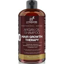 Perte Art Naturals Sulfate Organic gratuit Argan Oil Shampoo Hair, 16 oz