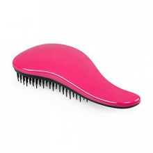 Brush Elfina démêlant Cheveux Detangler Peigne --- Hot Pink